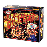 Kit Feu d'artifice automatique Portable 5 min