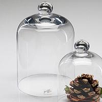 Nos cadeaux pour vos invit s dragees communion - Cloche en verre hauteur 40 cm ...